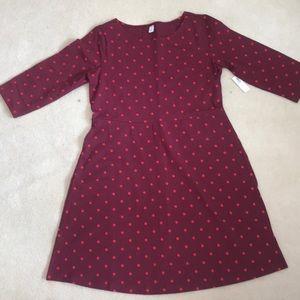NEW Old Navy Plus Size Polka Dot Dress